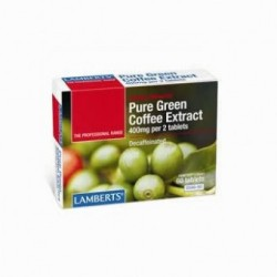LAMBERTS Pure Green Coffee Extract decaffeinated 60 δισκία