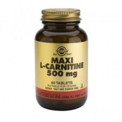SOLGAR L-CARNITINE 500 mg 60 δισκία