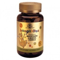 SOLGAR KANGAVITES COMPLETE MULTIVITAMIN & MINERAL FORMULA (tropical punch) 60 δισκία