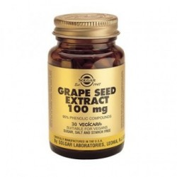 SOLGAR GRAPE SEED EXTRACT 100 mg 30 δισκία