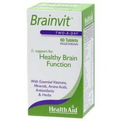 HEALTH AID BRAINVIT 60TABLETS