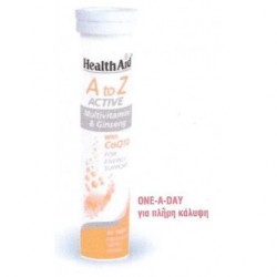 HEALTH AID ACTIVE A to Z MULTIVITAMINS & GINSENG with CoQ10