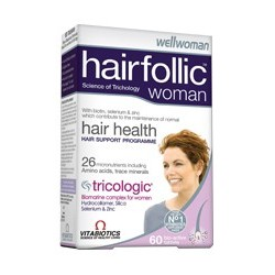 HAIRFOLLIC WOMAN  by VITABIOTICS 60 tabs