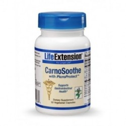 LIFE EXTENSION CARNOSOOTHE WITH PICROPROTECT 60 CAPS