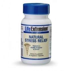 LIFE EXTENSION NATURAL STRESS RELIEF FORMULA 30 CAPS