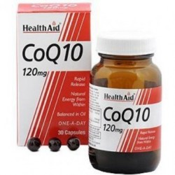 HEALTH AID CoQ-10 120mg 30tabs