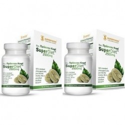 SuperFoods Green Coffee Super Diet 2500mg 90 caps Promo 2ΤΜΧ
