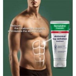 SOMATOLINE Cosmetic Man Αγωγή Κοιλιακοί Top Definition 200ml