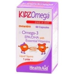 Health Aid HealthAid KIDZ Omega 60's caps orange
