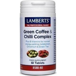 LAMBERTS Pure Green Coffee Extract Chilli Complex 60 tabs