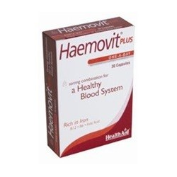 HEALTH AID HAEMOVIT PLUS 30 CAPS